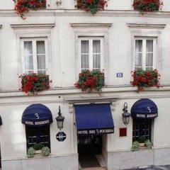 Отель Hôtel des 3 Poussins Франция, Париж - 3 отзыва об отеле, цены и фото номеров - забронировать отель Hôtel des 3 Poussins онлайн фото 3