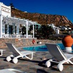 Отель Olia Hotel Греция, Турлос - 1 отзыв об отеле, цены и фото номеров - забронировать отель Olia Hotel онлайн фитнесс-зал