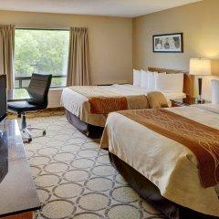 Отель Comfort Inn Ottawa East Канада, Оттава - отзывы, цены и фото номеров - забронировать отель Comfort Inn Ottawa East онлайн комната для гостей фото 3