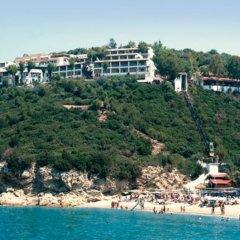 Отель Regina Mare пляж