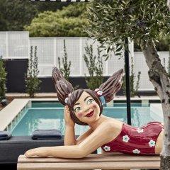 Отель Azur Boutique Афины бассейн