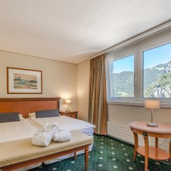 Metropole Swiss Quality Interlaken Hotel комната для гостей