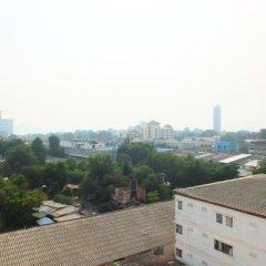 Апартаменты Kimhant Apartment Паттайя балкон