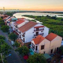 Отель Golden Peach Villa Hoi An пляж