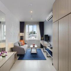 Апартаменты Oakwood Apartments Ho Chi Minh City комната для гостей фото 2