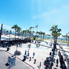 Отель Samesun Venice Beach Лос-Анджелес спортивное сооружение