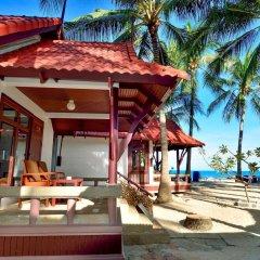 Отель First Bungalow Beach Resort Таиланд, Самуи - 6 отзывов об отеле, цены и фото номеров - забронировать отель First Bungalow Beach Resort онлайн пляж фото 2