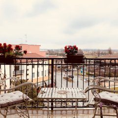 Отель Welc-oM Thermal Flat Италия, Монтегротто-Терме - отзывы, цены и фото номеров - забронировать отель Welc-oM Thermal Flat онлайн балкон