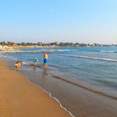 Side Altinkum Bungalow Hotel Сиде пляж