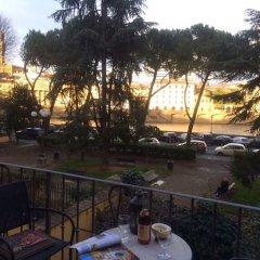 Апартаменты Toflorence Apartments - Oltrarno Флоренция балкон