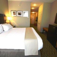 Отель Holiday Inn Effingham США, Эффингем - отзывы, цены и фото номеров - забронировать отель Holiday Inn Effingham онлайн комната для гостей фото 5