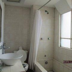 Hotel Nueva Galicia ванная