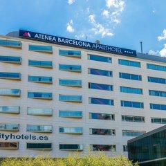 Отель Апарт-отель Atenea Barcelona Испания, Барселона - 3 отзыва об отеле, цены и фото номеров - забронировать отель Апарт-отель Atenea Barcelona онлайн вид на фасад