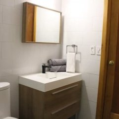 Отель Comodo Y Atractivo Departamento Isa 96 Мехико ванная