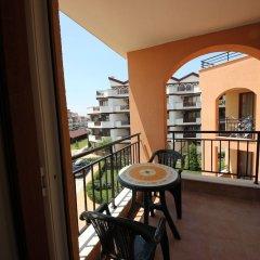 Отель Menada Paradise Dreams Apartments Болгария, Свети Влас - отзывы, цены и фото номеров - забронировать отель Menada Paradise Dreams Apartments онлайн балкон