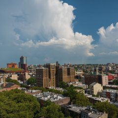 Отель Even Brooklyn Нью-Йорк балкон