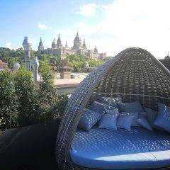 Отель Crowne Plaza Barcelona - Fira Center Испания, Барселона - 3 отзыва об отеле, цены и фото номеров - забронировать отель Crowne Plaza Barcelona - Fira Center онлайн бассейн