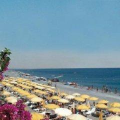 Sea Palace Hotel Фускальдо пляж