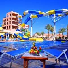 Отель Aqua Vista Resort & Spa Египет, Хургада - 1 отзыв об отеле, цены и фото номеров - забронировать отель Aqua Vista Resort & Spa онлайн бассейн фото 2