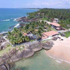 Отель White Villa Resort Aungalla пляж фото 2