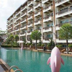 Отель Phuket Center Apartment Таиланд, Пхукет - 8 отзывов об отеле, цены и фото номеров - забронировать отель Phuket Center Apartment онлайн бассейн