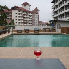 Отель Jomtien Plaza Residence сауна