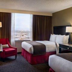 Отель Doubletree by Hilton Los Angeles Downtown США, Лос-Анджелес - 8 отзывов об отеле, цены и фото номеров - забронировать отель Doubletree by Hilton Los Angeles Downtown онлайн комната для гостей фото 3