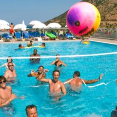 Отель Bali Paradise Hotel Греция, Милопотамос - отзывы, цены и фото номеров - забронировать отель Bali Paradise Hotel онлайн фитнесс-зал