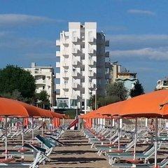 Hotel Aristeo Римини пляж