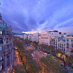 Отель Mandarin Oriental Barcelona балкон