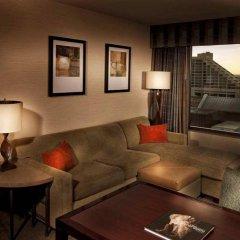 Отель Embassy Suites Fort Worth - Downtown комната для гостей фото 2