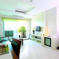 Отель The Laurel Suite Apartment Таиланд, Бангкок - отзывы, цены и фото номеров - забронировать отель The Laurel Suite Apartment онлайн комната для гостей фото 4