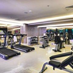 Отель Mercure Istanbul Bomonti фитнесс-зал