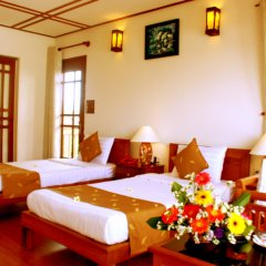 Отель Riverside Bamboo Resort Хойан в номере