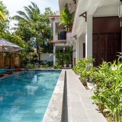 Отель An Bang Coco Villa бассейн