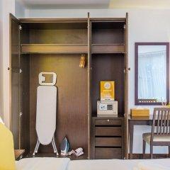 Отель Yello Rooms Таиланд, Бангкок - отзывы, цены и фото номеров - забронировать отель Yello Rooms онлайн сейф в номере