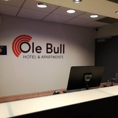 Ole Bull Hotel & Apartments интерьер отеля