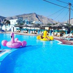 Отель Dodo's Santorini Греция, Остров Санторини - отзывы, цены и фото номеров - забронировать отель Dodo's Santorini онлайн бассейн фото 3
