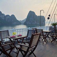 Отель Garden Bay Legend Cruise Вьетнам, Халонг - отзывы, цены и фото номеров - забронировать отель Garden Bay Legend Cruise онлайн балкон