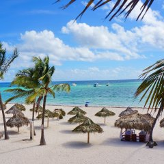 Отель Los Corales Villas & Apartments Доминикана, Пунта Кана - отзывы, цены и фото номеров - забронировать отель Los Corales Villas & Apartments онлайн пляж