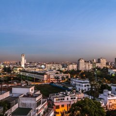Отель Atlas Almohades Casablanca City Center Марокко, Касабланка - 2 отзыва об отеле, цены и фото номеров - забронировать отель Atlas Almohades Casablanca City Center онлайн балкон