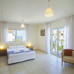 Отель Athina Villa 8 Кипр, Протарас - отзывы, цены и фото номеров - забронировать отель Athina Villa 8 онлайн комната для гостей фото 2