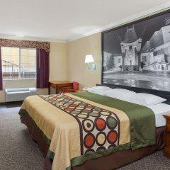 Отель Super 8 Downtown Лос-Анджелес комната для гостей фото 4