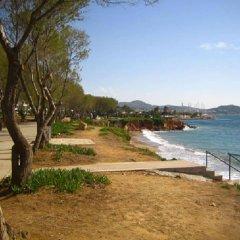 Отель Galini Palace пляж фото 2