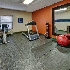 Отель Hampton Inn Concord/Kannapolis фитнесс-зал