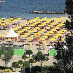 Отель Sabbia DOro Италия, Римини - отзывы, цены и фото номеров - забронировать отель Sabbia DOro онлайн пляж