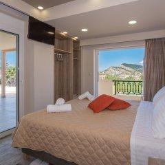 Отель El Barco Luxury Suites Греция, Аргасио - отзывы, цены и фото номеров - забронировать отель El Barco Luxury Suites онлайн комната для гостей фото 2