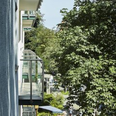 Отель Villa Kastania Германия, Берлин - отзывы, цены и фото номеров - забронировать отель Villa Kastania онлайн балкон