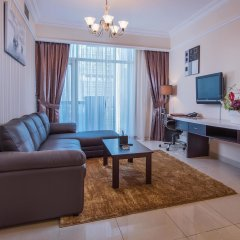 Emirates Grand Hotel Apartments Дубай комната для гостей фото 4