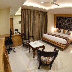 Отель Grand Rajputana Индия, Райпур - отзывы, цены и фото номеров - забронировать отель Grand Rajputana онлайн комната для гостей фото 5